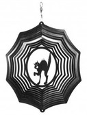 Scary Cat Web Black Wind Spinner
