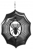 Spider Web Black Wind Spinner