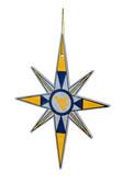 West Virginia Mountaineers Snowflake Ornament