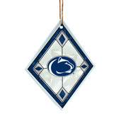 Penn State Nittany Lions Art Glass Ornament