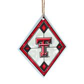 Texas Tech Red Raiders Art Glass Ornament