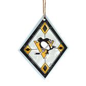 Pittsburgh Penguins Art Glass Ornament