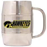Iowa Hawkeyes Macho Barrel Mug - 32 oz. - Iowa Hawkeyes