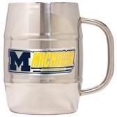 Michigan Wolverines Macho Barrel Mug - 32 oz. - Michigan Wolverines