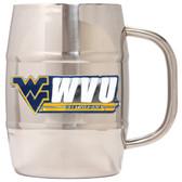 West Virginia Mountaineers Macho Barrel Mug - 32 oz. - West Virginia Mountaineers