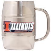 Illinois Fighting Illini Macho Barrel Mug - 32 oz. - Illinois Fighting Illini