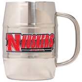 Nebraska Cornhuskers Macho Barrel Mug - 32 oz. - Nebraska Cornhuskers