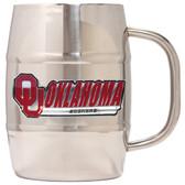 Oklahoma Sooners Macho Barrel Mug - 32 oz. - Oklahoma Sooners