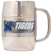 Memphis Tigers Macho Barrel Mug - 32 oz. - Memphis Tigers