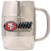 San Francisco 49ers Macho Barrel Mug - 32 oz. - San Francisco 49ers