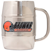 Cleveland Browns Macho Barrel Mug - 32 oz. - Cleveland Browns