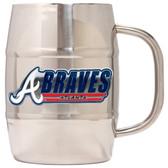 Atlanta Braves Macho Barrel Mug - 32 oz. - Atlanta Braves