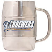 Milwaukee Brewers Macho Barrel Mug - 32 oz. - Milwaukee Brewers