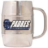 San Diego Padres Macho Barrel Mug - 32 oz. - San Diego Padres