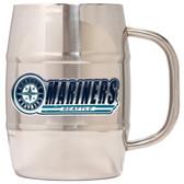 Seattle Mariners Macho Barrel Mug - 32 oz. - Seattle Mariners