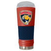 Florida Panthers The 24oz Powder Coated DRAFT - Vacuum Insulated Tumbler - Florida Panthers