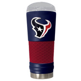 Houston Texans The 24oz Powder Coated DRAFT - Vacuum Insulated Tumbler - Houston Texans