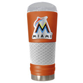 Miami Marlins The 24oz Powder Coated DRAFT - Vacuum Insulated Tumbler - Miami Marlins