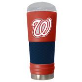 Washington Nationals The 24oz Powder Coated DRAFT - Vacuum Insulated Tumbler - Washington Nationals