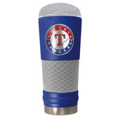Texas Rangers The 24oz Powder Coated DRAFT - Vacuum Insulated Tumbler - Texas Rangers