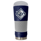 Tampa Bay Rays The 24oz Powder Coated DRAFT - Vacuum Insulated Tumbler - Tampa Bay Rays