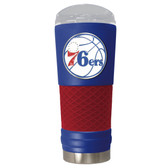 Philadelphia 76ers The 24oz Powder Coated DRAFT - Vacuum Insulated Tumbler - Philadelphia 76ers