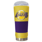 Los Angeles Lakers The 24oz Powder Coated DRAFT - Vacuum Insulated Tumbler - Los Angeles Lakers