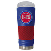Detroit Pistons The 24oz Powder Coated DRAFT - Vacuum Insulated Tumbler - Detroit Pistons