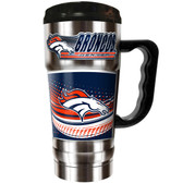 Denver Broncos 20oz Travel Mug