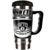 Brooklyn Nets 20oz Travel Mug