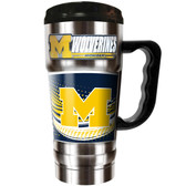 Michigan Wolverines 20oz Travel Mug