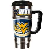 West Virginia Mountaineers 20oz Travel Mug