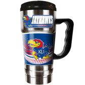 Kansas Jayhawks 20oz Travel Mug