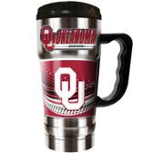 Oklahoma Sooners 20oz Travel Mug
