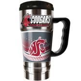 Washington State Cougars 20oz Travel Mug