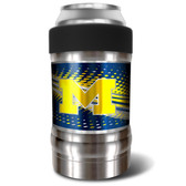 Michigan Wolverines Vacuum Insulated Can Holder