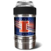 Illinois Fighting Illini Vacuum Insulated Can Holder
