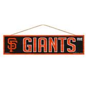 San Francisco Giants Sign 4x17 Wood Avenue Design