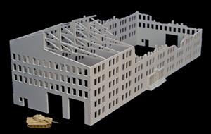 Stalingrad Factory, Ruined Version (Acrylic) - 285ACR030