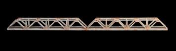 Truss Bridge, Double Span, 2 Lane  (Acrylic) - 285ROAD038-2