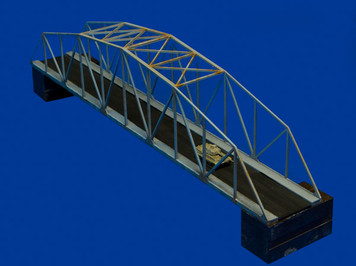 "12"" Steel Bridge, Vehicle or Railroad (Acrylic) - 285ACR013"