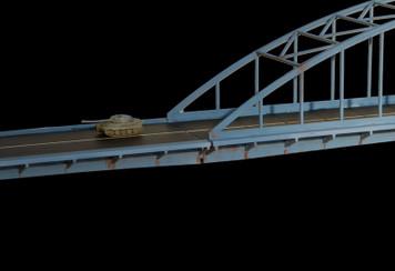 A Bridge Too Far (Half) (Acrylic) - 285ROAD034