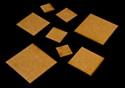 ".75"" (19mm) Square Base (MDF)"