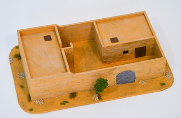 Walled Compound With Removable Roof (MDF) - 15MMDF030-R