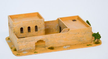 Walled Compound With Removable Roof (MDF) - 15MMDF037-R