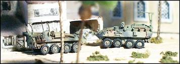 LAV LOG+C2 Logistic and Command-Control vehicles (2/3 /pk)  - N109