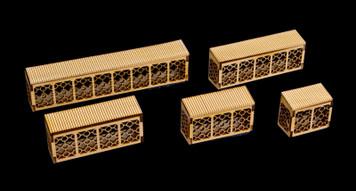 Balconies, 5 Per Kit - 15MMEV016