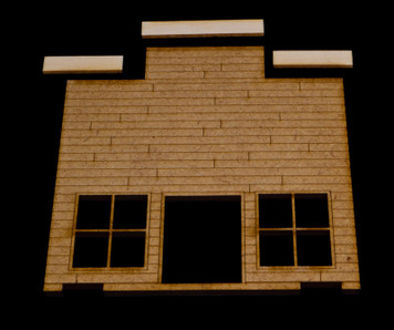 Old West One Story Building - 15MWEST005
