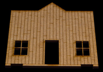 Old West One Story Building - 15MWEST006