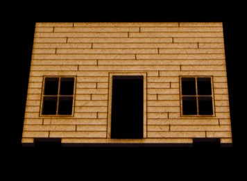 Old West One Story Building - 15MWEST008